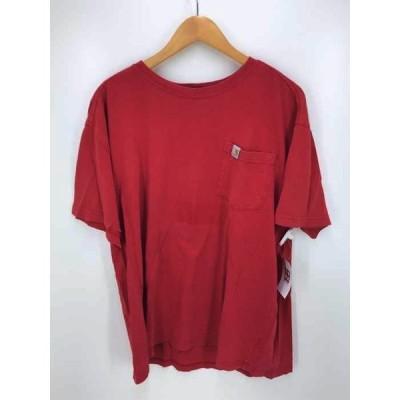 カーハート Carhartt レッド Tシャツ メンズ L 中古 210319