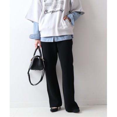 【スピック&スパン】 コットンハリヌキサイドジップパンツ◆ レディース ブラック 36 Spick & Span
