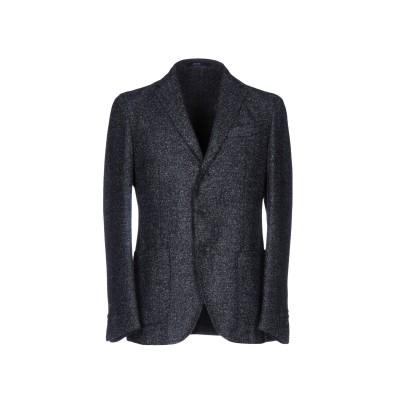 ドルモア DRUMOHR テーラードジャケット ブルーグレー 48 ウール 50% / ポリエステル 32% / アクリル 10% / ナイロン 8