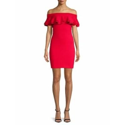 ジョン+ジェン レディース ワンピース Harriet Off-The-Shoulder Dress