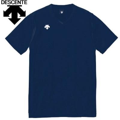【メール便対応】デサント 半袖ゲームシャツ バレーボールウェア メンズ レディース ジュニア DSS-4321-NVY