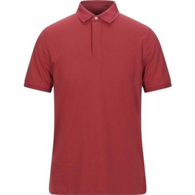 ヘリテイジ HERITAGE メンズ ポロシャツ トップス Polo Shirt Red