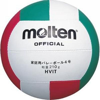 モルテン バレーボール 家庭用バレー 軽量4号球 ゴム HVIT