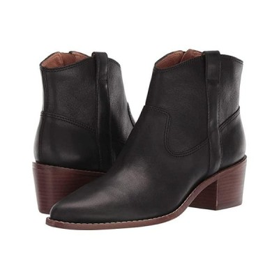 Madewell Ronin Western Boot レディース ブーツ True Black Leather