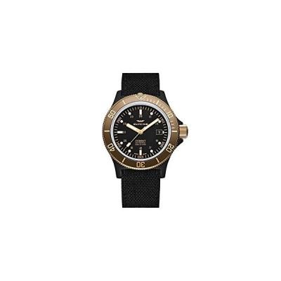 Glycine Combat Mens Analog Automatic Watch with Leather Bracelet GL0093 並行輸入品