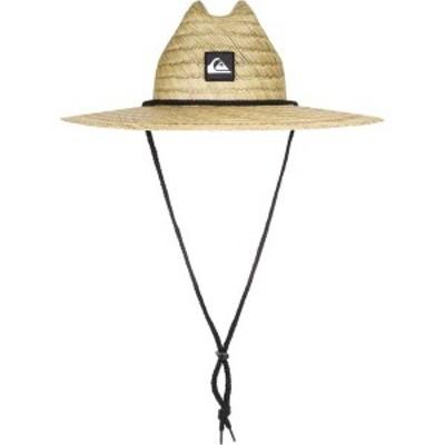 クイックシルバー メンズ 帽子 アクセサリー Quiksilver Boys' Pier Side Straw Hat Natural
