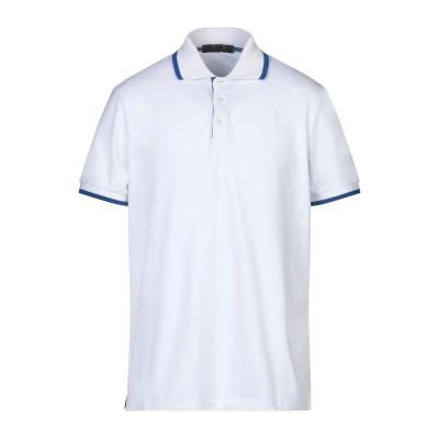 CESARE PACIOTTI 4US ポロシャツ ホワイト S コットン 95% / ポリウレタン 5% ポロシャツ