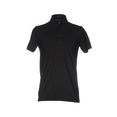 ドルモア DRUMOHR ポロシャツ ブラック S 100% コットン ポロシャツ