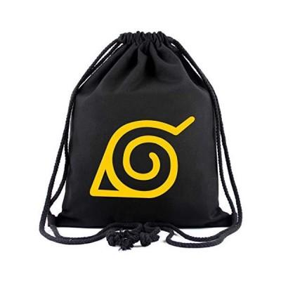 Anime Naruto Akatsuki Drawstring Bag/Backpack Travel Gym Sport Bag Sackpack