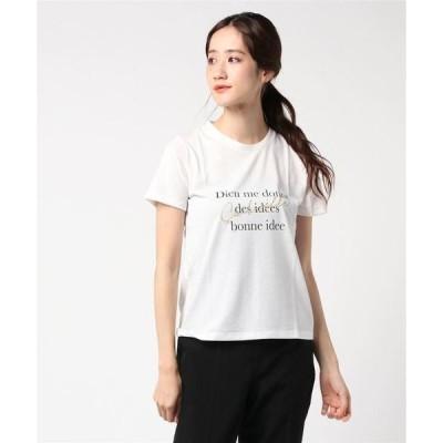 tシャツ Tシャツ SOMETHING プリントTシャツ
