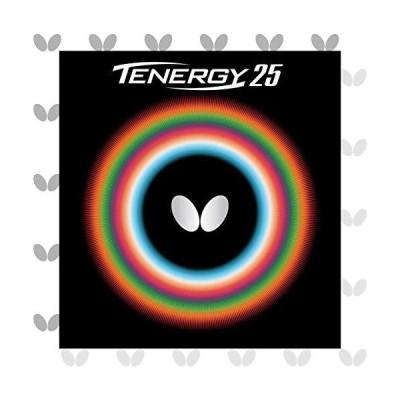バタフライ(Butterfly) 卓球 ラバー テナジー・25 裏ソフト テンション (スピン) 05810 レッド 特厚