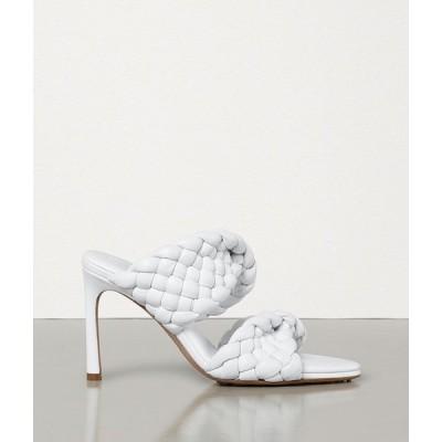 ボッテガヴェネタ BOTTEGA VENETA ミュール シューズ 靴 オプティックホワイト ラムスキン
