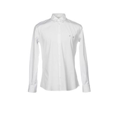 ディースクエアード DSQUARED2 シャツ ホワイト 52 コットン 97% / ポリウレタン 3% シャツ