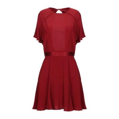 セッスン SESSUN ミニワンピース&ドレス ボルドー M アセテート 57% / レーヨン 43% ミニワンピース&ドレス