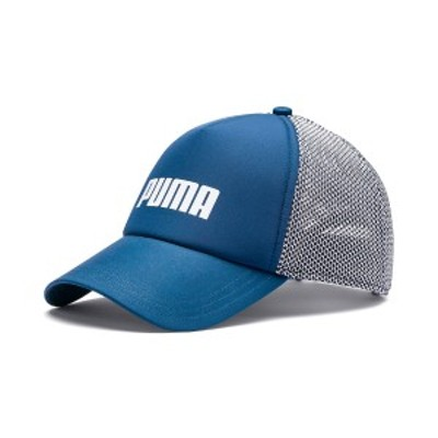 【セール】 プーマ スポーツアクセサリー 帽子 プーマ トラッカー キャップ 2254802 メンズ AD ダーク デニム