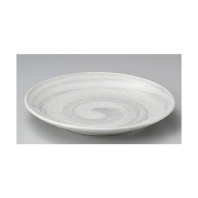 ☆ 丸皿 ☆白雪丸9.0皿 [ 28.8 x 3.7cm 970g ] 【 料亭 旅館 和食器 飲食店 業務用 】