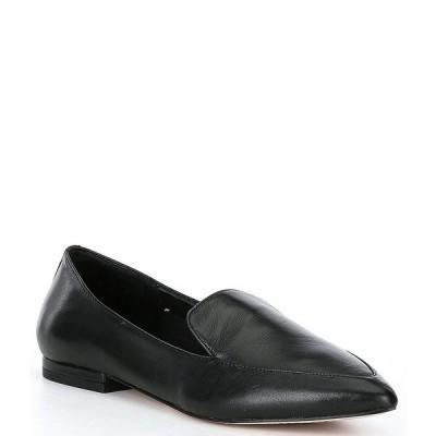 ジアーニビニ レディース サンダル シューズ Farrwenn Pointed Toe Flat Loafers Black