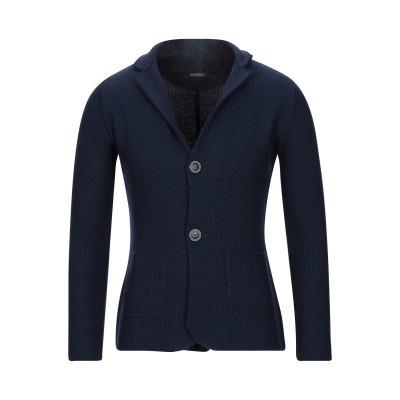 ALBARENA テーラードジャケット ダークブルー S ウール 50% / アクリル 50% テーラードジャケット
