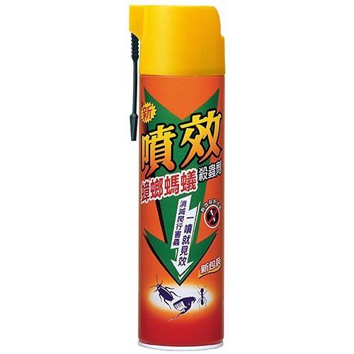 噴效蟑螂螞蟻藥600ml【愛買】