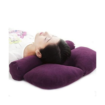 円柱 筒型 ネックフィット首枕 ストレートネック 矯正枕 頸椎サポート 仰向け 横寝 まくら 首肩こり対策 頭痛改善 竹炭枕 疲れ解消 多機