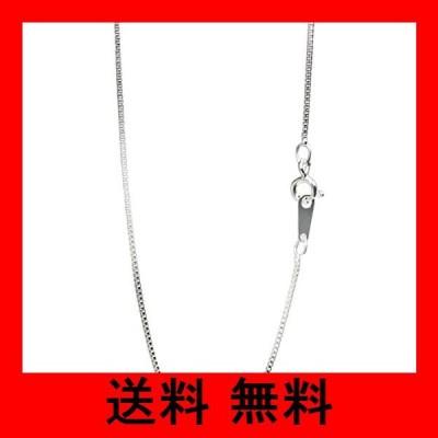 新宿銀の蔵 シルバー ベネチアンチェーン 細め 長さ38〜60cm (40cm) 幅0.9mm シルバー 925 ネックレス チェーン ネックレスチ