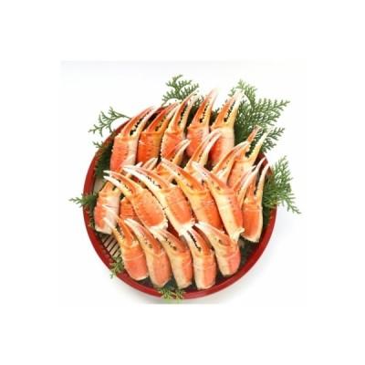 江府町 ふるさと納税 ズワイガニ爪肉1kg かに 25-z1