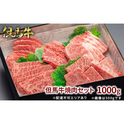 但馬牛焼肉セット1000g