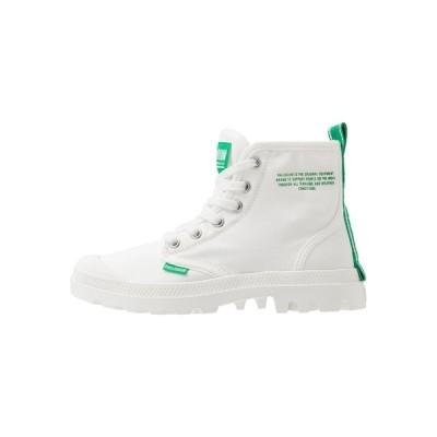 パラディウム ブーツ&レインブーツ メンズ シューズ PAMPA DARE SAFETY - Lace-up ankle boots - starwhite