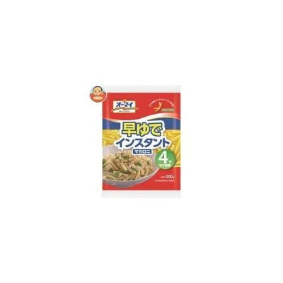 日本製粉 オーマイ 早ゆでインスタントマカロニ 200g×12袋入