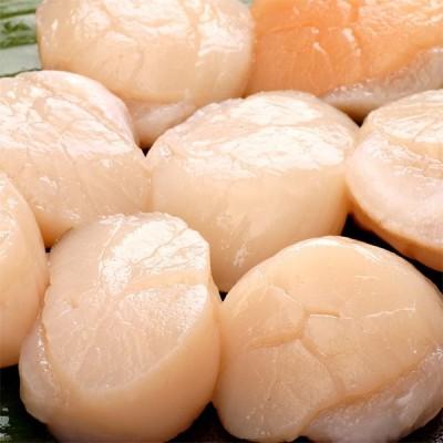 ホタテ 貝柱 刺身用 大粒 生冷 帆立 バター焼き 鍋 グラタン 北海道産 ほたて 特大 約1kg