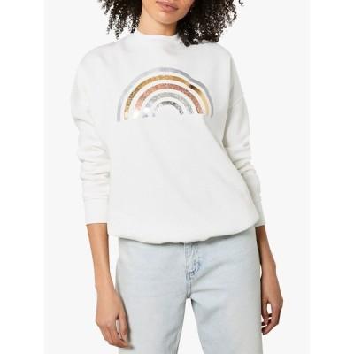 ミルトンベルベット シャツ レディース トップス Mint Velvet Rainbow Sweatshirt