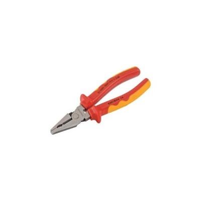 トラスコ中山 絶縁強力型ペンチ 200mm 絶縁工具(ペンチ) TZP-200HL 返品種別B