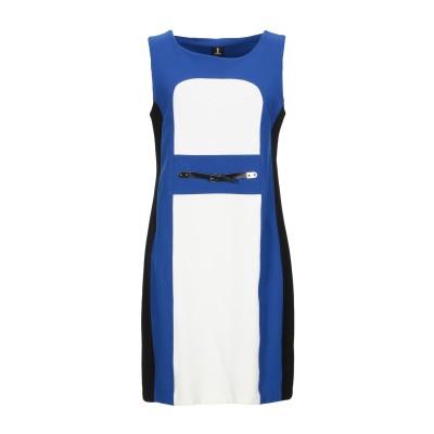 ONE ミニワンピース&ドレス ブライトブルー 42 レーヨン 69% / ナイロン 26% / ポリウレタン 5% ミニワンピース&ドレス