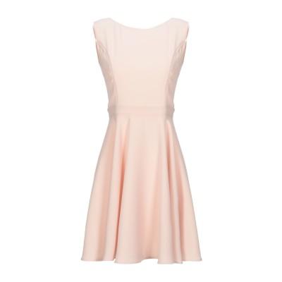 FRANCESCA & VERONICA FELEPPA ミニワンピース&ドレス ライトピンク 44 ポリエステル 100% / ナイロン / ポリ