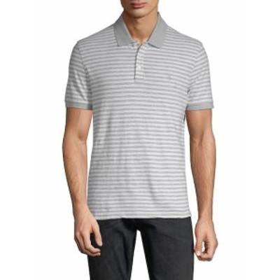 オリジナルペンギン メンズ トップス Tシャツ ポロシャツ Slub Feeder Striped Cotton Polo