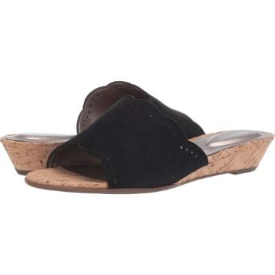 ロックポート Rockport レディース サンダル・ミュール シューズ・靴 Total Motion Zandra Slide Black