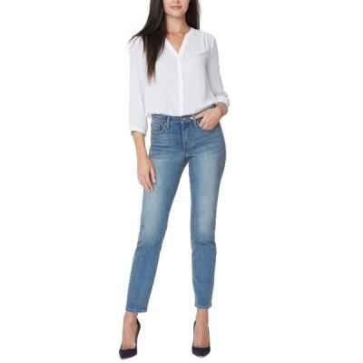 エヌワイディージェイ デニムパンツ ボトムス レディース Petite Sheri Slim-Leg Tummy-Control Jeans Clayburn