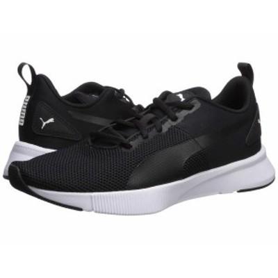 プーマ メンズ スニーカー シューズ Flyer Runner Puma Black/Puma Black/Puma White