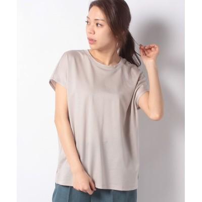 【ルーニィ】 フレンチスリーブTシャツ レディース ベージュ 36 LOUNIE
