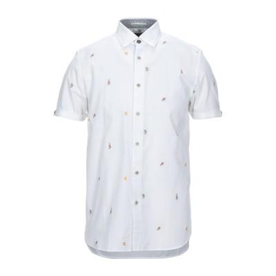テッドベーカー TED BAKER シャツ ホワイト 3 コットン 100% シャツ
