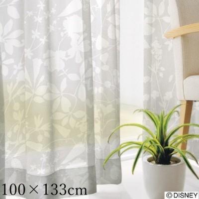 ディズニー レースカーテン 100×133cm(1枚入り)ミッキー/カーニバルボイル ミッキー カーテン/既製カーテン/ウォッシャブル/日本製
