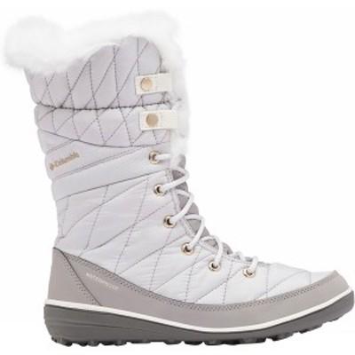 コロンビア レディース ブーツ&レインブーツ シューズ Heavenly Omni-Heat Boot - Women's Grey Ice/Sea Salt