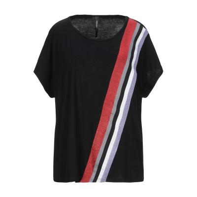 ピアヌラストゥーディ�� PIANURASTUDIO T シャツ ブラック 42 レーヨン 95% / ポリウレタン 5% T シャツ