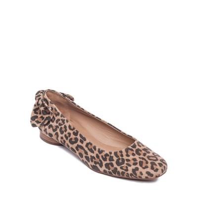 ベルナルド レディース サンダル シューズ Eloise Cheetah Suede Ballerina Flats