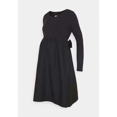 ママリシャス ワンピース レディース トップス MLCAROLINA MIX DRESS  - Day dress - black