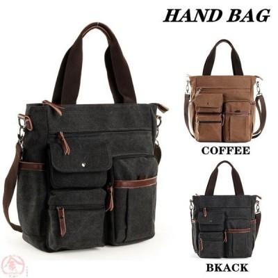 メンズバッグ ショルダーバッグ ハンドバッグ 2way バッグ かばん 鞄 シンプル 大容量 通勤 出張 多機能 おしゃれ カジュアル 彼氏 男性 紳士 プレゼント