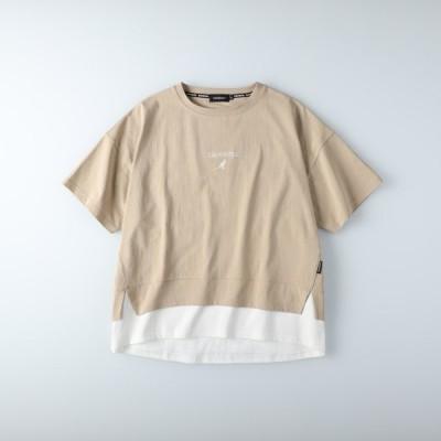 (カンゴール)KANGOL フェイクレイヤードTシャツ