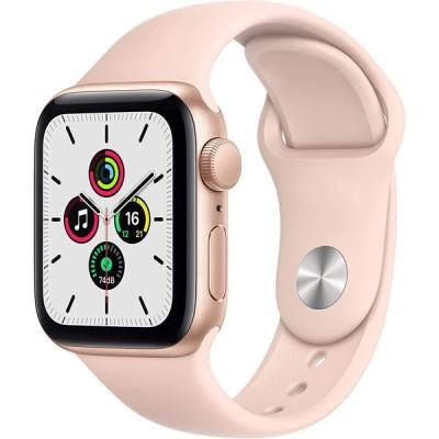 Apple Watch SE GPSモデル 40mm ゴールドアルミケース スポーツバンド ピンク MYDN2LL/A 新品 スマートウォッチ本体 1年保証
