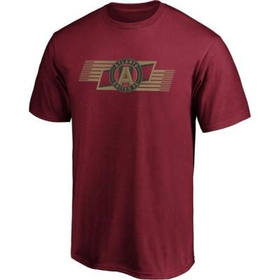 ファナティクス Fanatics メンズ Tシャツ トップス MLS Atlanta United Iconic Scarf Red T-Shirt