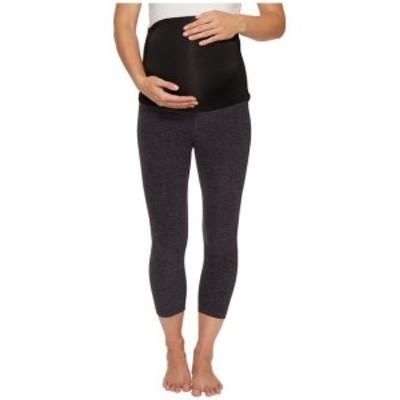 ビヨンドヨガ レディース パンツ Fold Down Maternity Capri Leggings